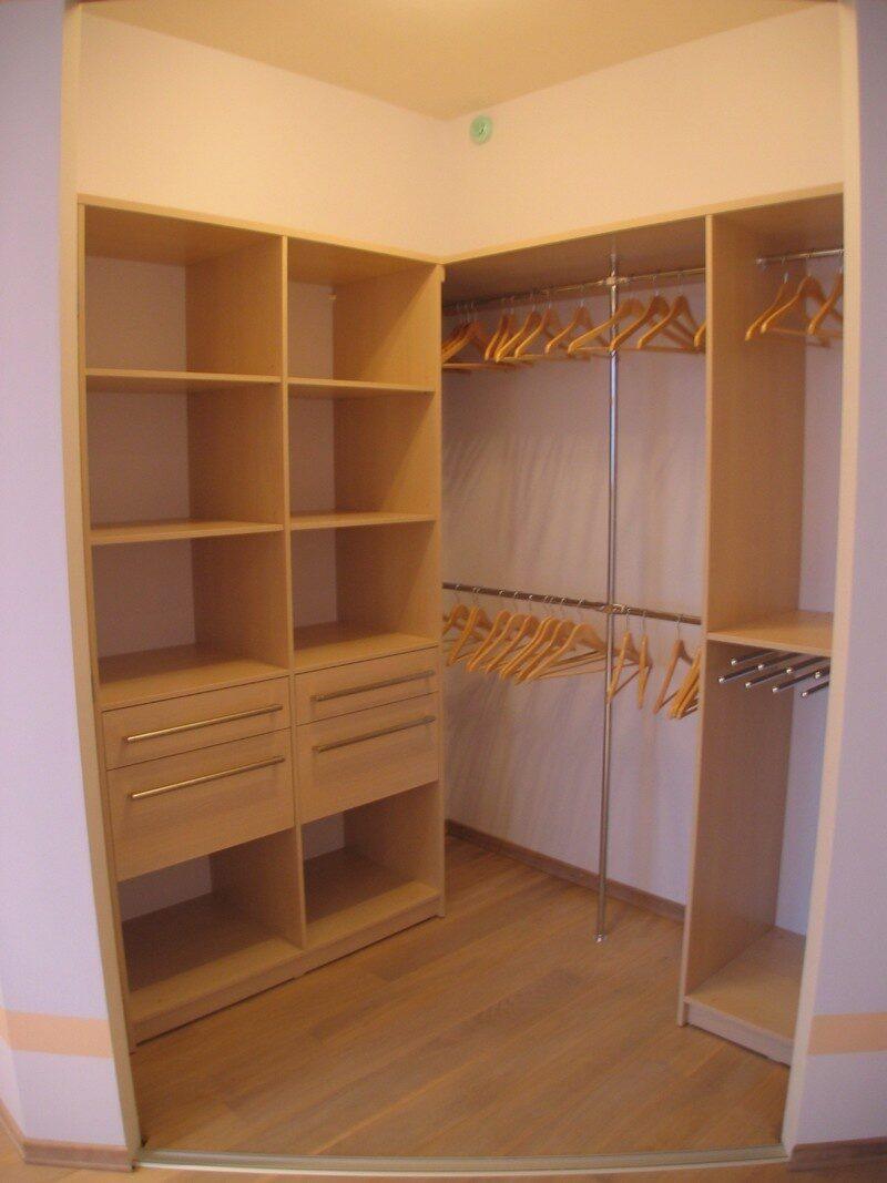 Как в кладовке сделать шкаф-купе