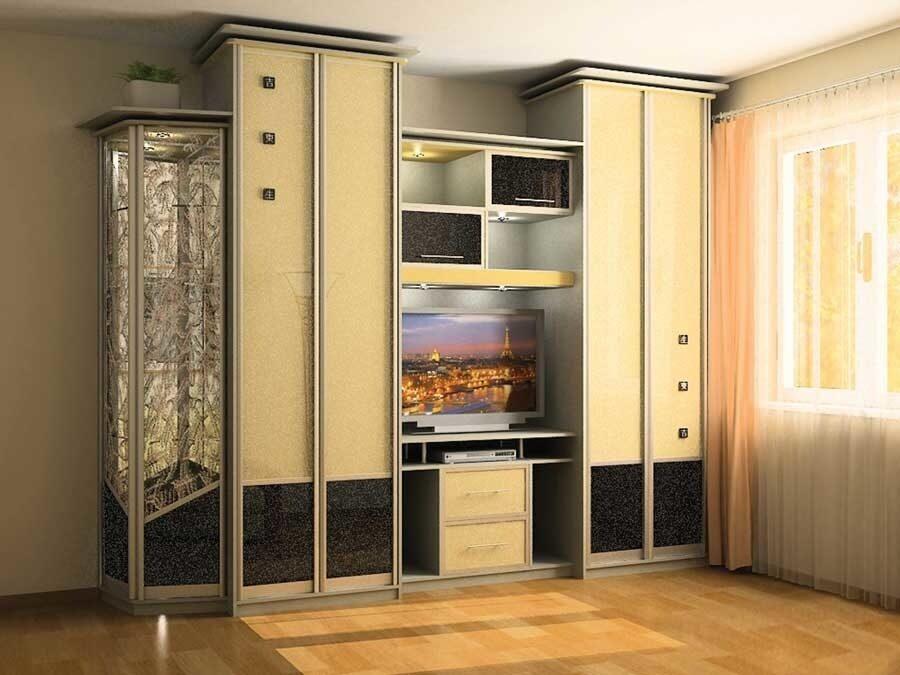 Шкафы В Гостиную С Телевизором В Москве