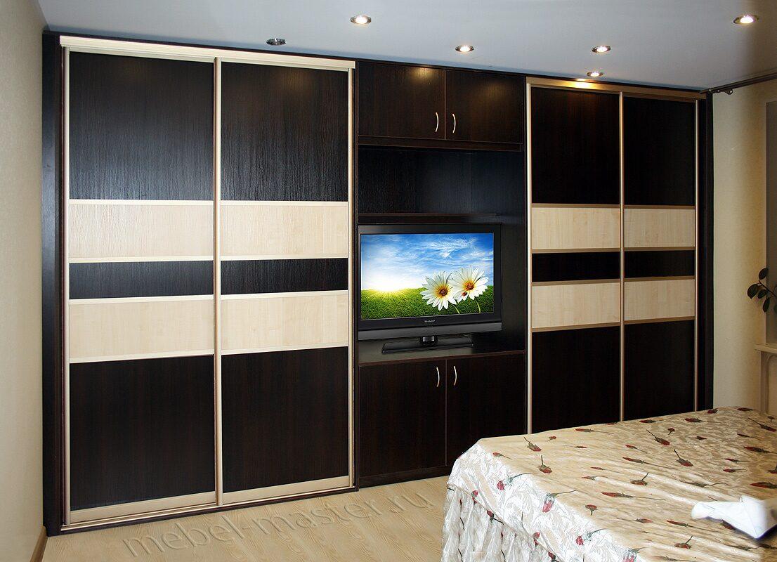 Лучший дизайн шкафы-купе для спальни