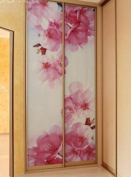 Фото для шкафов купе с цветами