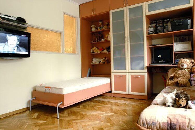 Встроенные детские кровати фото