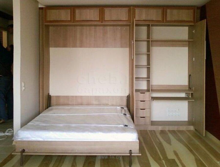 Как сделать кровать встроенную в шкаф своими руками
