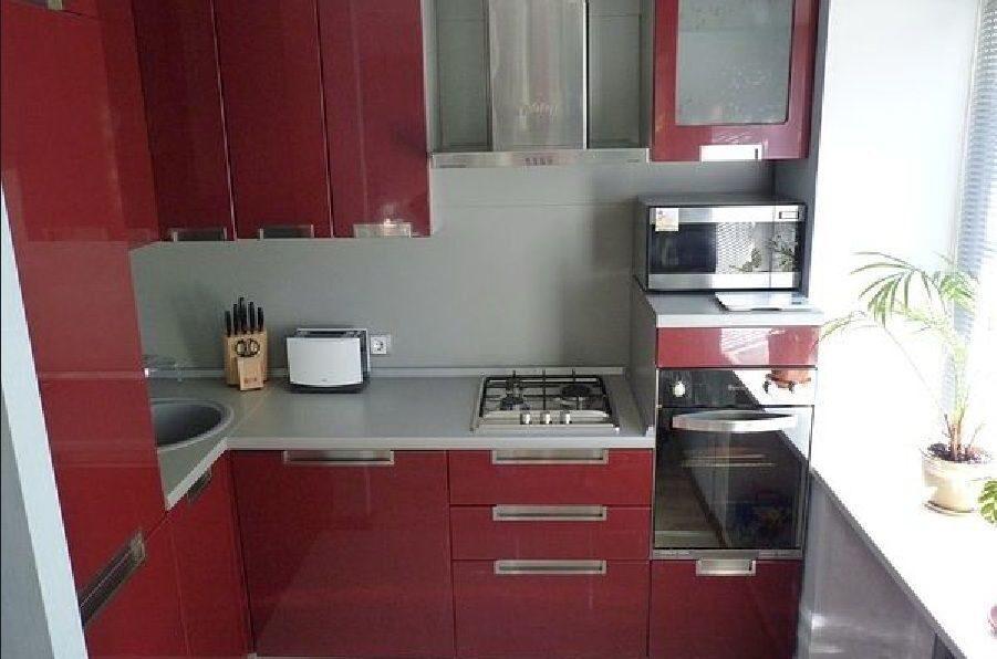 Интерьер для кухни 5 кв.м фото