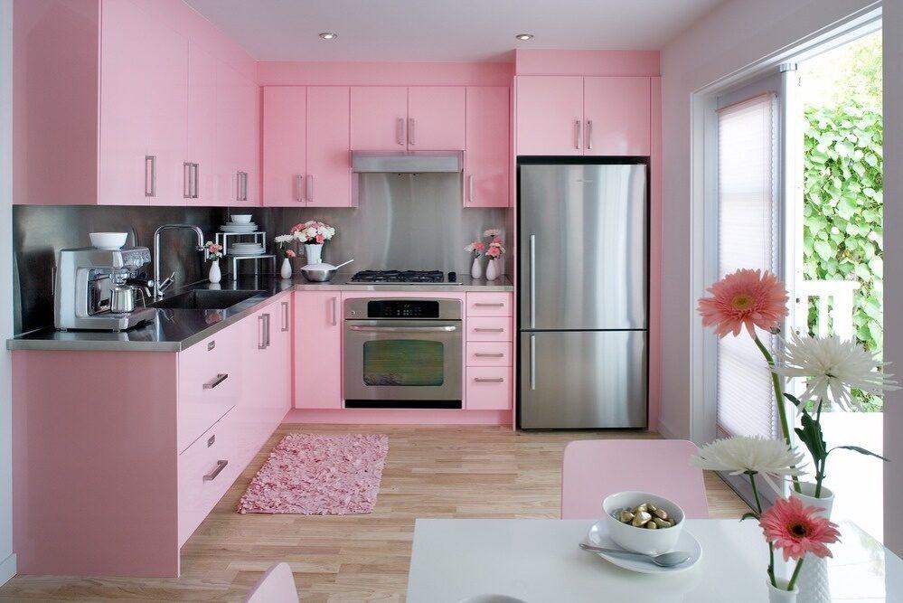 Kuche rosa deko