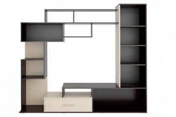Гостиная стенка «Капри» внутри