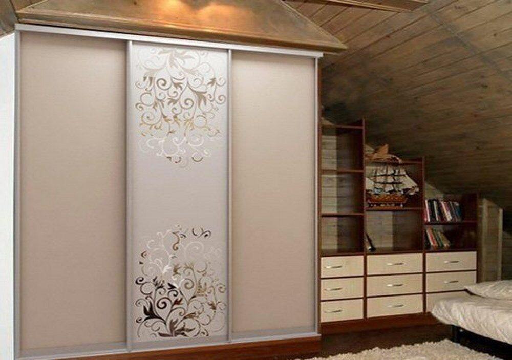 пескоструйные рисунки на шкафах-купе фото