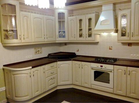 фото кухни классика массив