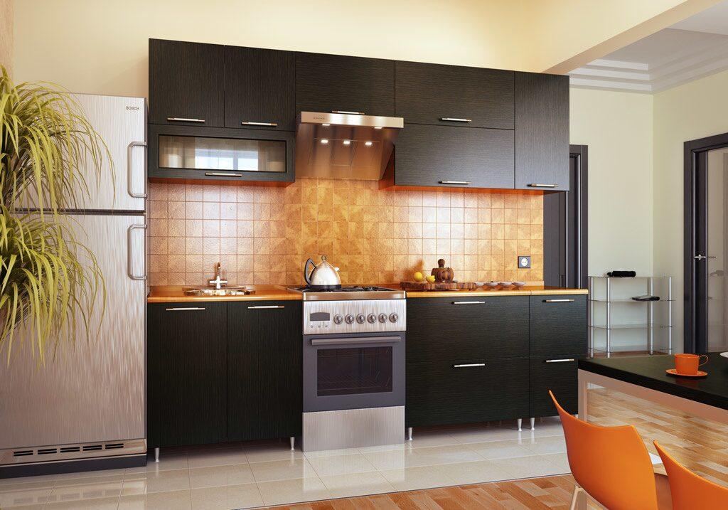 Варианты прямых кухонь фото