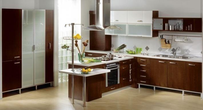 Вертикальные рейлинги для кухни