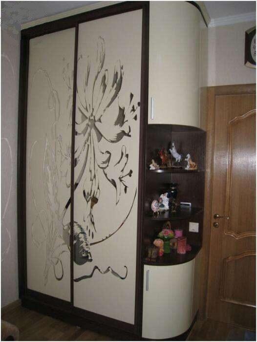 пескоструйные рисунки на шкафах купе фото