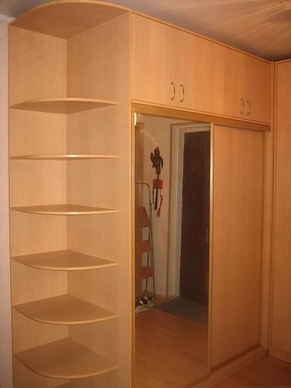 Фото угловые шкафы купе.