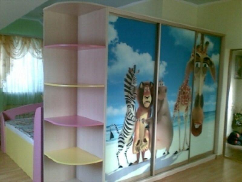 Шкафы купе в детскую комнату (46) шкафы купе в детскую комна.