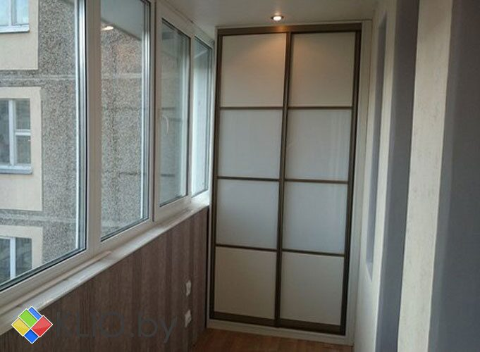 """Шкаф купе на балконе фото""""мебель на ваш вкус""""."""