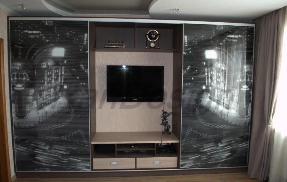 Шкаф купе с телевизором (5) шкаф купе с телевизором фото.