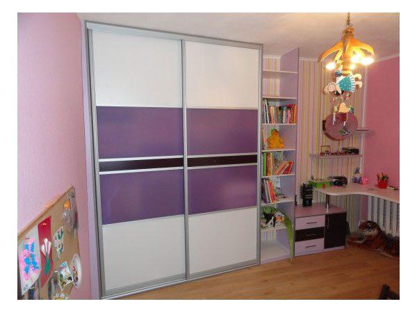 Фотогалерея шкафов-купе : шкаф в детскую - фотогалерея - фаб.