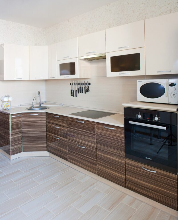 Самба зебрано фото кухонь