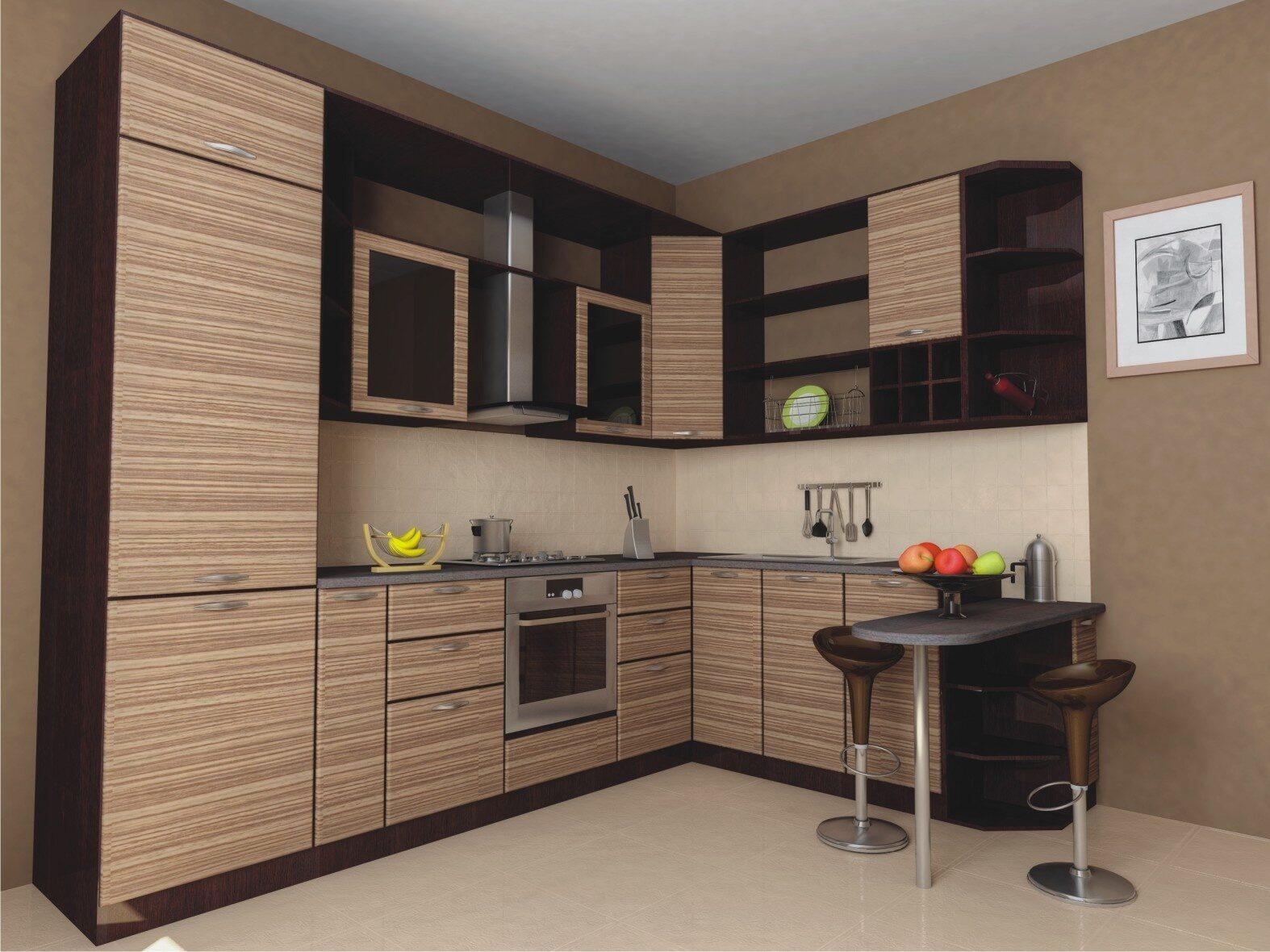 Кухонная мебель в стиле гжель фото расположение входа